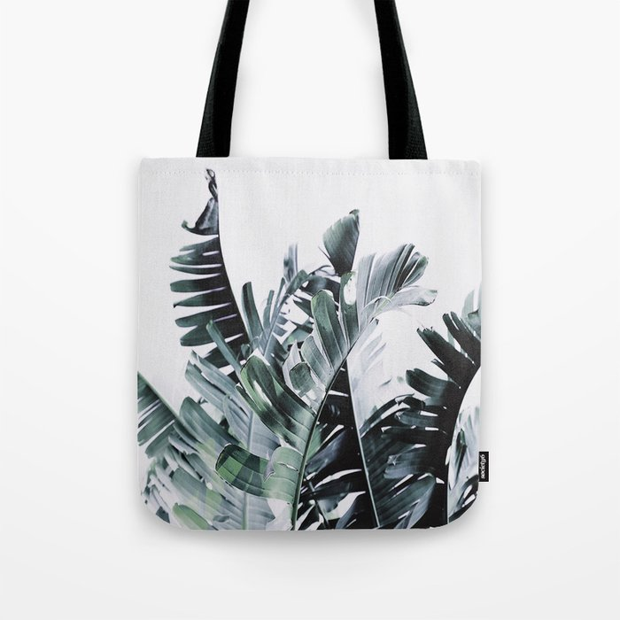 Litsia Leaves Darker Tote Bag