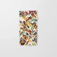 Native Geometric Hand & Bath Towel