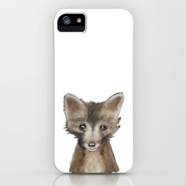 Fox Kid iPhone Case