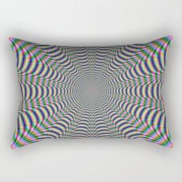 Psychedelic Web Rectangular Pillow