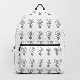 Floral Light Bulb Backpack
