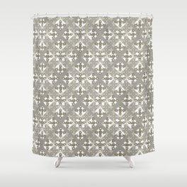 Tiles - neutral Shower Curtain