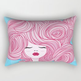 Comprate tu álbum de princesas Rectangular Pillow