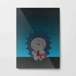 Nigel The Hedgehog Metal Print