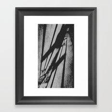 Night Light Framed Art Print