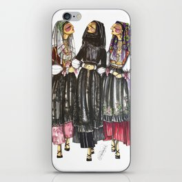 Dorgali Women iPhone Skin