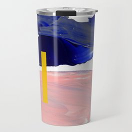 Untitled (Abstract Composition 2017008) Travel Mug