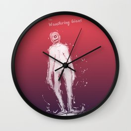 The Wandering Giant Wall Clock