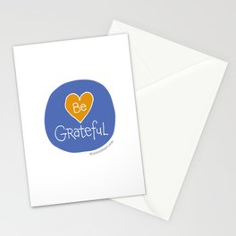 Be Grateful - Wisdom Heart, Gratitude-a-Palooza Stationery Cards