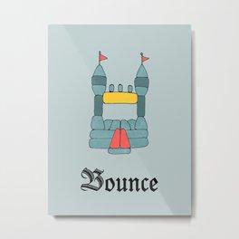 Bounce Metal Print
