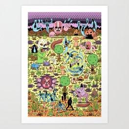 Ghost World Art Print