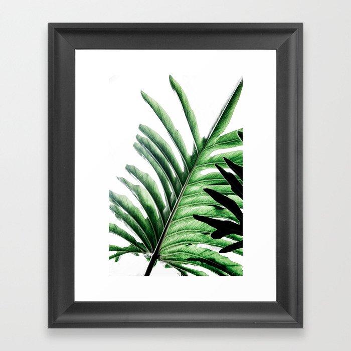 Leaves 2 Gerahmter Kunstdruck
