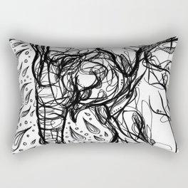 Elephant Bath Rectangular Pillow