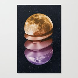 Music of the Moon Canvas Print