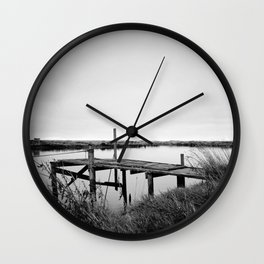 The Whitebait Stand Wall Clock