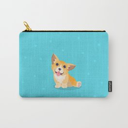 Sitting Cute Corg Carry-All Pouch