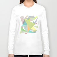 nordic Long Sleeve T-shirts featuring Nordic Combination 11 by Mareike Böhmer