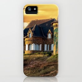 Wonderful Fairytale Manor In Greenery Dreamy UHD iPhone Case