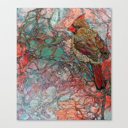Thicket Starlet Canvas Print