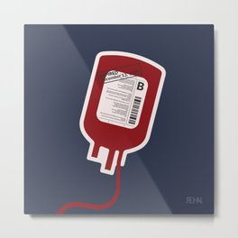 Bad Blood Metal Print