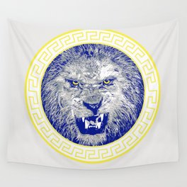 Versace Lion Wall Tapestry