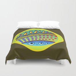 Heavenly Perspective Duvet Cover