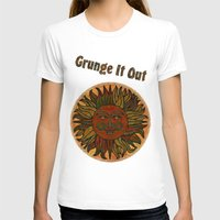grunge T-shirts featuring Grunge by BohemianBound
