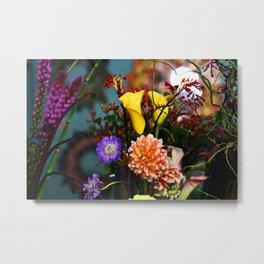a gathering of flowers Metal Print