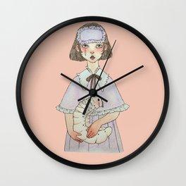 my dear caterpillar Wall Clock