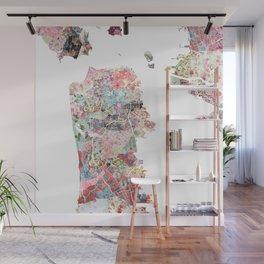 San Francisco map Wall Mural