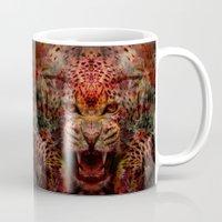 jaguar Mugs featuring Jaguar by Zandonai