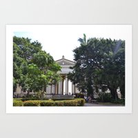 cuba Art Prints featuring Cuba by jpstrose