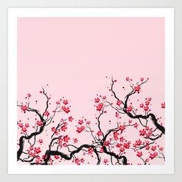Cherry Blossom Kunstdrucke