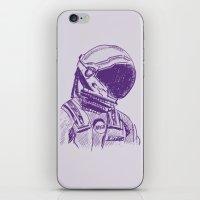 interstellar iPhone & iPod Skins featuring interstellar  by Osman SARGIN