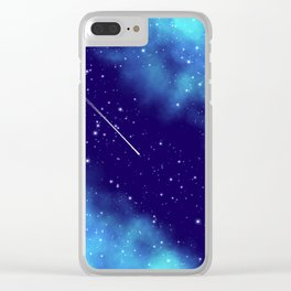 Way to the stars Clear iPhone Case