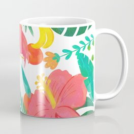 Tropical Vibes Summer Pattern Coffee Mug