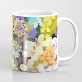 White Blooms from the Forest Floor Coffee Mug