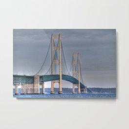 Mackinac Island Bridge  Metal Print