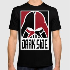 The Dark Side Mens Fitted Tee Black MEDIUM
