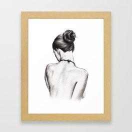 Languor Framed Art Print