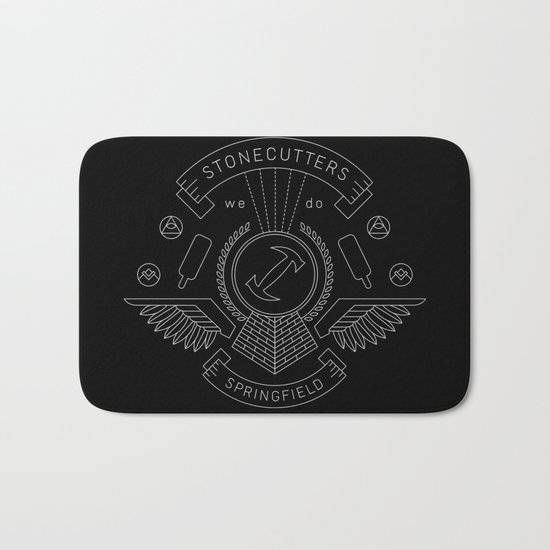 Members Only: Stonecutters Bath Mat