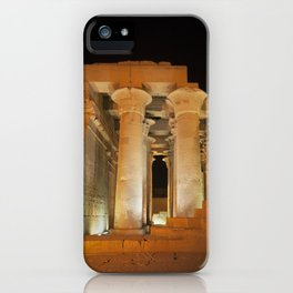 Temple of Kom Ombo iPhone Case