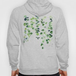 Eucalyptus Watercolor 2  Hoody