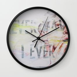 NEVER HAVE I EVER Wall Clock