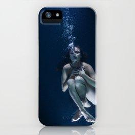 Woman Underwater iPhone Case