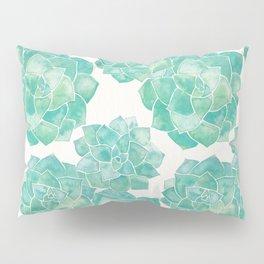 Rosette Succulents – Mint Palette Pillow Sham