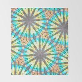 Twelve-Pointed Diagonal Stars Throw Blanket