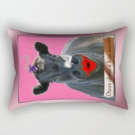 OWES ABOUT A KISS ANSOM Rectangular Pillow