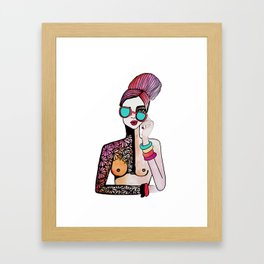 Guapa Framed Art Print