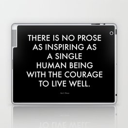 """Inspire"" Text Laptop & iPad Skin"